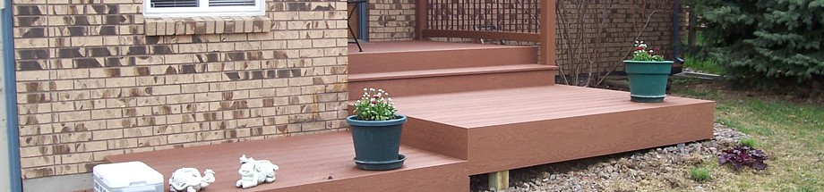 Custom Decks and Sunsetter Awnings, as well as pergolas and fences!